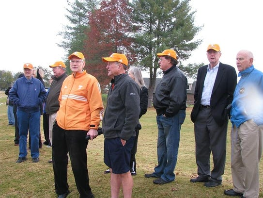 Tennessee cross country runners from the 1963 and 1965