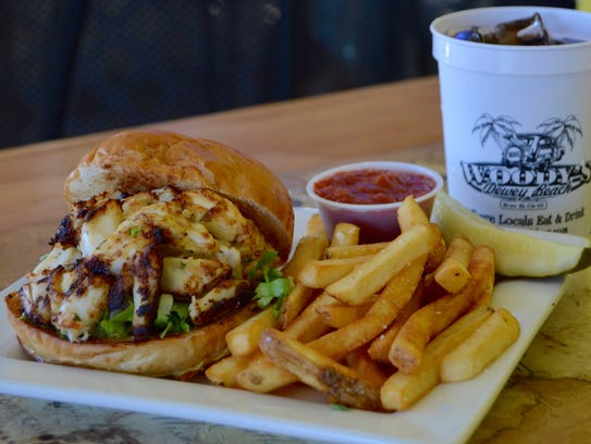 Woody's crab cake is the best out there, according