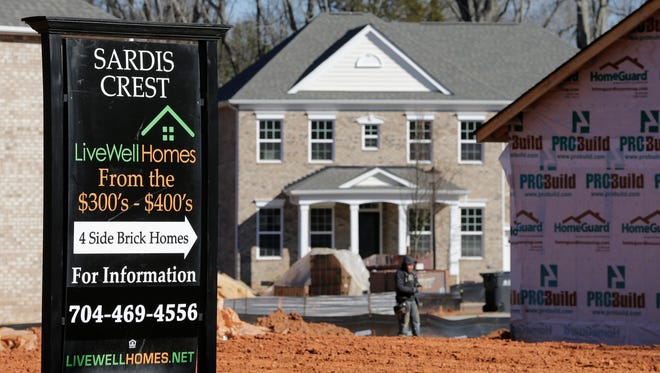 New home sales followed the upward-bound housing market it May.