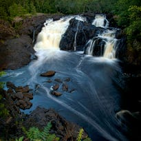 """Professional photographer Lisa Crayford talks Thursday, July 14, about her new book, """"Waterfalls of Minnesota."""" What started out as a desire to see the state has led to a book designed to help others get out and enjoy Minnesota's many waterfalls."""