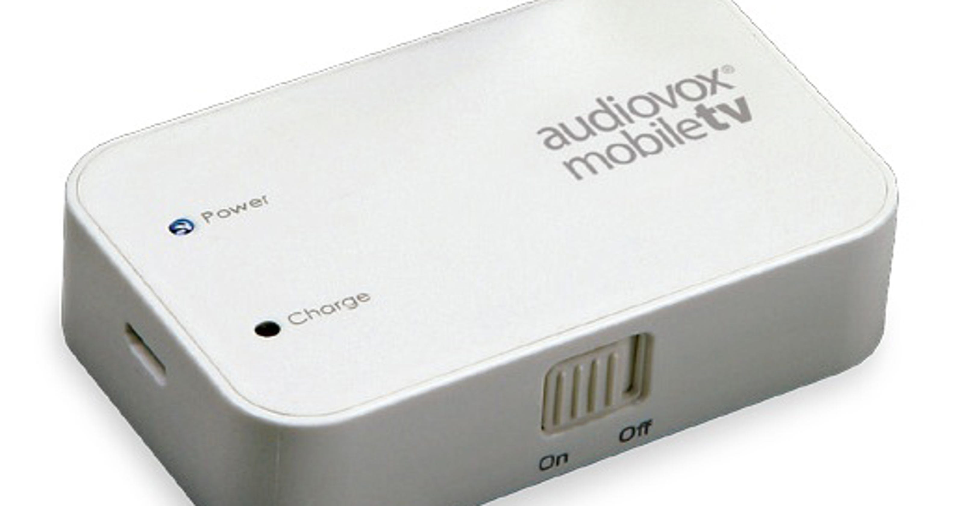 Audiovox turns smartphone or tablet into a TV