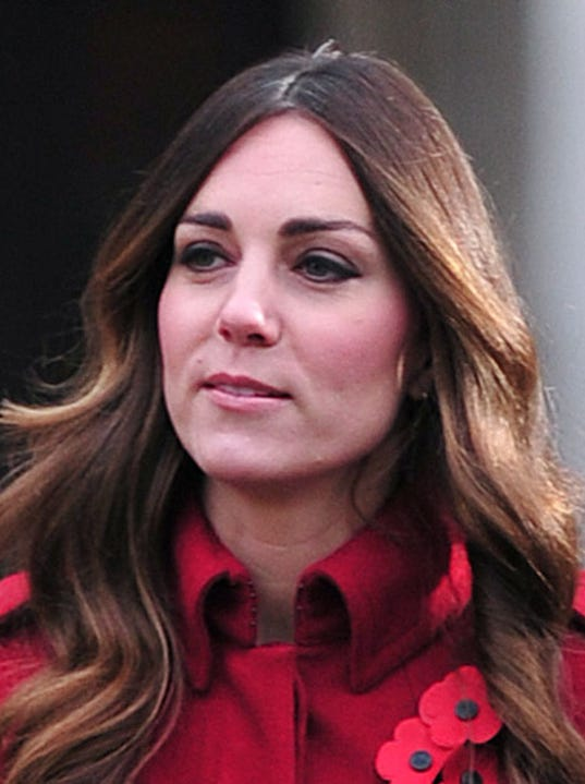 Kate Middleton S Gray Hair Shows In London