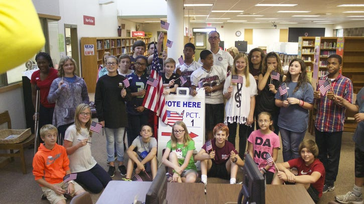 Ransom Middle teams up with the Supervisor of Elections