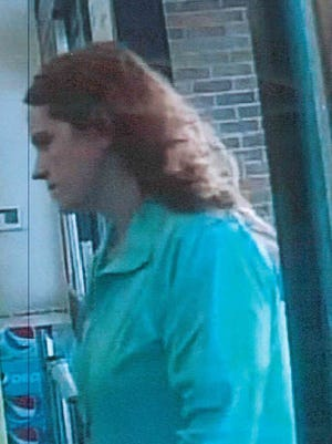 Johnston Police released this photo of a person believed to have knowledge about a credit card fraud case.