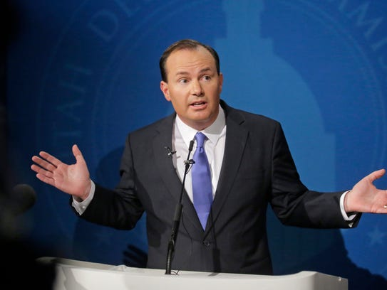 Republican Sen. Mike Lee of Utah