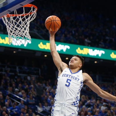 Kentucky basketball: Kevin Knox said he 'slept well' despite questions about eligibility