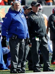 Rex Ryan brought his brother Rob to Buffalo in 2016,