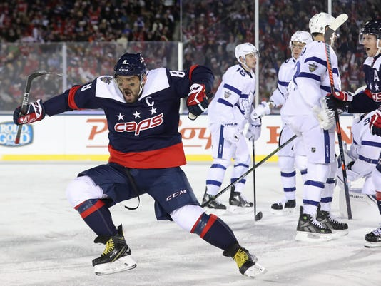 NHL: Stadium Series-Toronto Maple Leafs at Washington Capitals