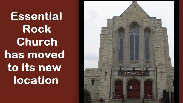 Essential Rock Church news