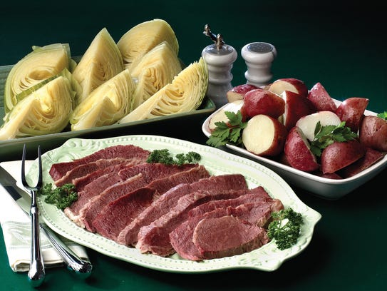For a traditional St. Patrick's Day family dinner,
