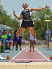 Kendra Gums- Kaplan. The LHSAA Track and Field State