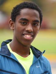 Silverton High School cross-country runner Haile (pronounced