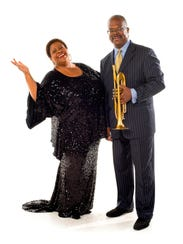 Singer Carmen Bradford and the Count Basie Orchestra's