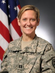 Ohio Army National Guard Capt. Denise Stewart