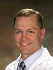 Dr. Keith Grams, chair of emergency medicine for Rochester
