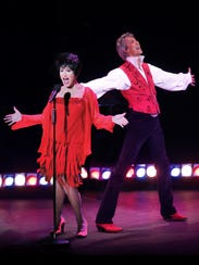 "Chita Rivera and Tommy Tune perform ""Chita & Tune:"