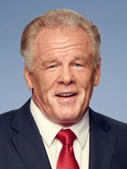 """Actor Nick Nolte, author of the book """"Rebel,"""" an account"""