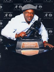 Former pro football player Mike Rozier, a Woodrow Wilson