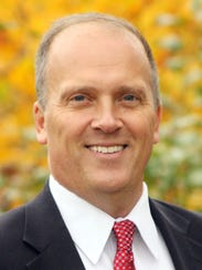 In this file photo provided by his campaign is Brad