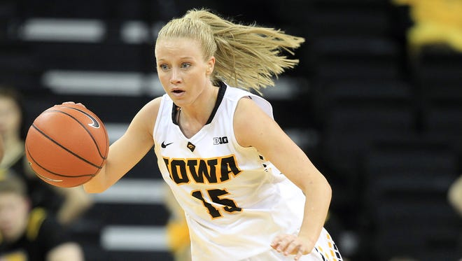 Whitney Jennings is leaving the Iowa women's basketball team, according to a release from the program on Wednesday.
