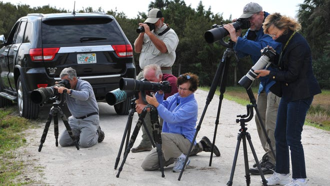 The kinds of cameras people are using for bird watching has evolved over the years.