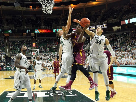 NCAA Basketball: Loyola-Chicago at Michigan State