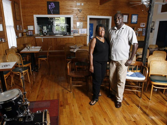 B Sharps Jazz Cafe owners Gerri and Clarence Seay bring jazz performers to the historic building in Frenchtown.