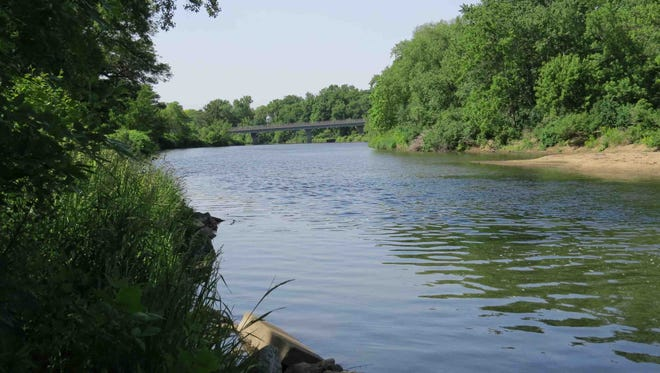 A landmark agreement allows Dubuque to meet certain State of Iowa water quality requirements by working with farmers located within the Apple-Plum, Grant-Little Maquoketa, and Maquoketa River, pictured, watersheds.