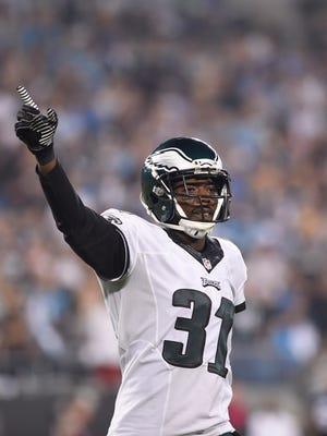 Eagles cornerback Byron Maxwell has missed the last two days of practice with a sprained ankle.