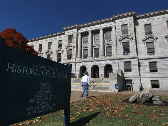 Greene County Courthouse centennial