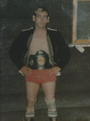 Johnny Thunder in his days as a professional wrestler.