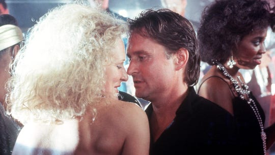 1987's 'Fatal Attraction' with Glenn Close and Michael