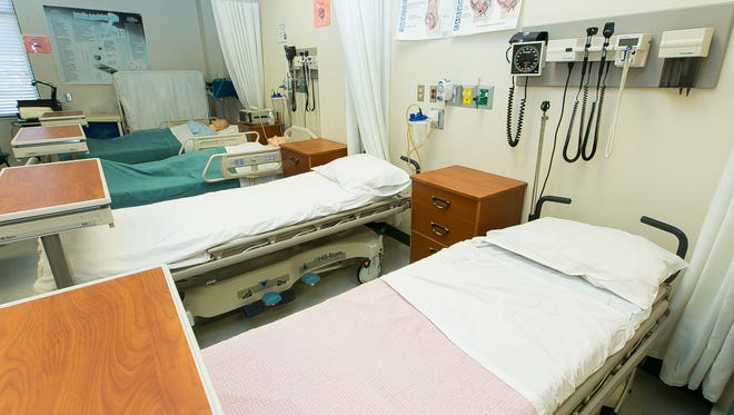 Preparing for a hospital stay, if possible, can greatly help in getting the best result. Hospitals work constantly to improve care, conditions, staff training and patient communication, Las Cruces hospital spokespersons say. Pictured is a room where  nursing students train at New Mexico State University.