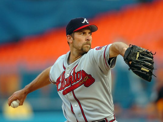 John Smoltz is up for election to the Hall of Fame