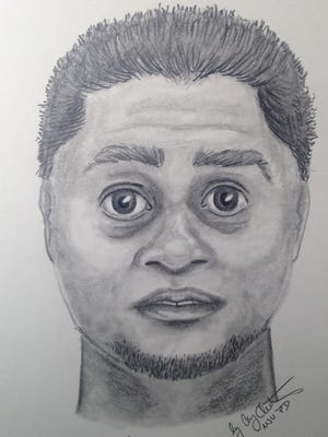 Police have released this composite sketch of a man they believe may be responsible for two assaults on MSU campus.