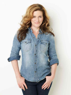 """People found out about her comedic talents through """"Saturday Night Live,"""" but Ana Gasteyer studied voice in college."""