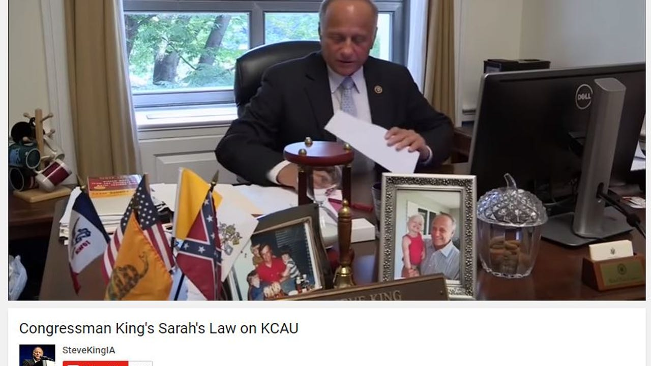 """On cherished artifacts in his office, U.S. Rep. Steve King says: """"When you think about the price that was paid to put an end to slavery, you can't discount what this means."""""""