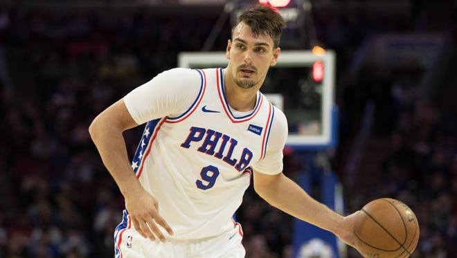 Philadelphia 76ers forward Dario Saric has developed into a key component to the team's playoff push this season.