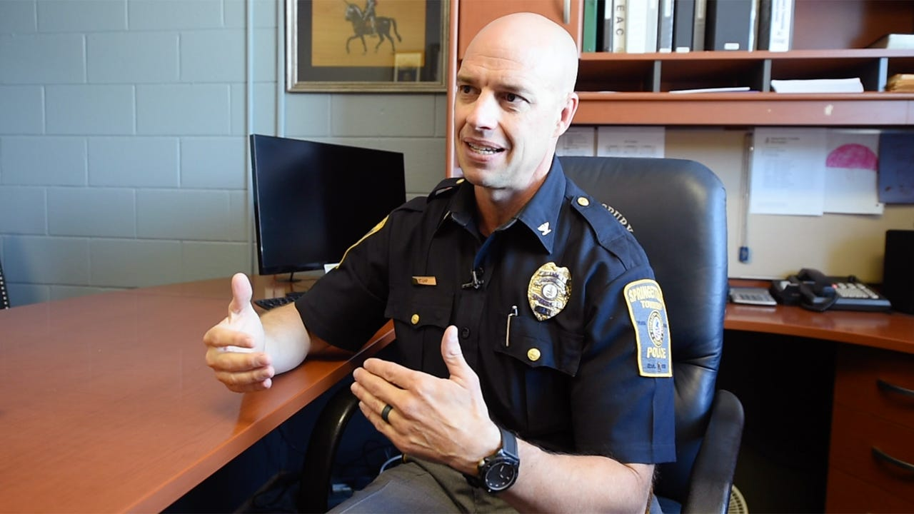 Chief Dan Stump became police chief of Springettsbury Township in March of 2015 and partnered with the Department of Justice for a full review of the department after series of incidents and resulting lawsuits.