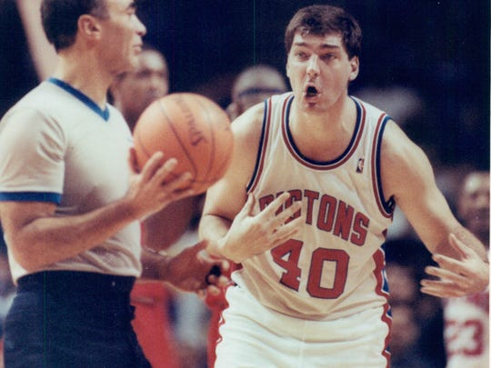 Former Detroit Piston Bill Laimbeer