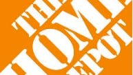 Logo of the Home Depot company, the world's largest retailer of home improvement retailer.