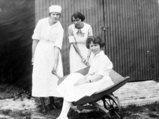 Early nursing staff were responsible for sterilizing surgical instruments in a pot of boiling water on a hospital stove.