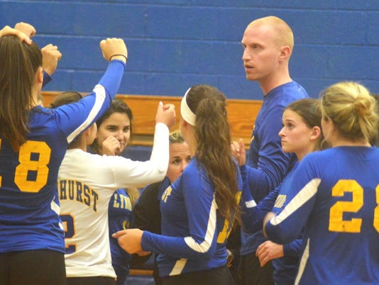Lyndhurst girls volleyball