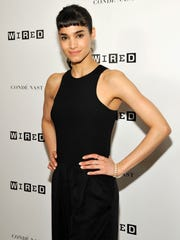 Sofia Boutella attends Comic-Con in San Diego.