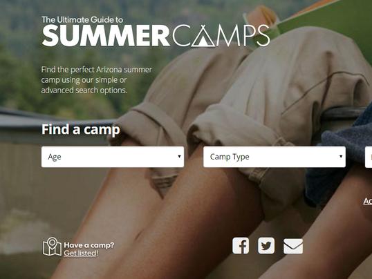 azcentral.com summer camps database 2017