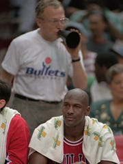 Robin Ficker, shown yelling at Michael Jordan in 1996,