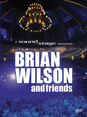 """Soundstage presents """"Brian Wilson and Friends"""" on Blu-Ray or DVD."""