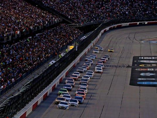 NASCAR: Bojangles' Southern 500