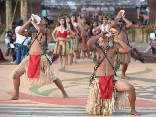 The Festival of Pacific Arts buzzed with activity on