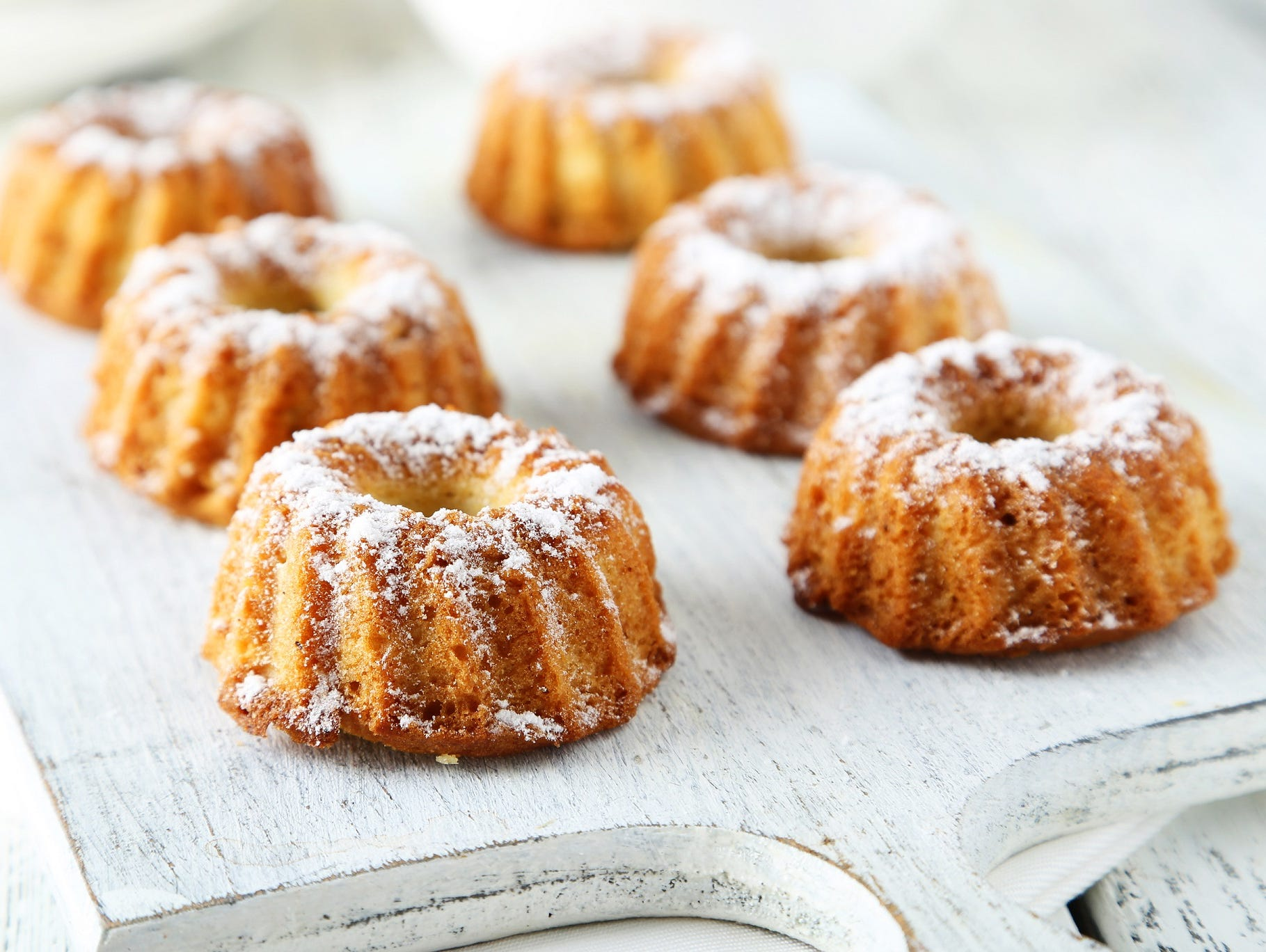 Enjoy a FREE Bundtlet with the purchase of a Bundtlet of equal or greater value at Nothing Bundt Cakes!